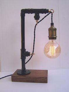 Lampe tube tuyau monteurs par NeuLightco sur Etsy