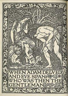 William Morris: Adam and Eve