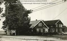 Marshview Restaurant and Shore Dinner House, Scarborough, ca. 1940