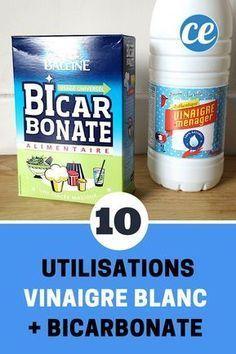 Vinegar + Bicarbonate: 10 Uses Of This Magic Mix., White Vinegar + Bicarbonate: 10 Uses Of This Magic Mix. Deep Cleaning Tips, House Cleaning Tips, Cleaning Solutions, Spring Cleaning, Cleaning Hacks, Diy Hacks, Bedroom Cleaning, Kitchen Cleaning, Toilet Cleaning