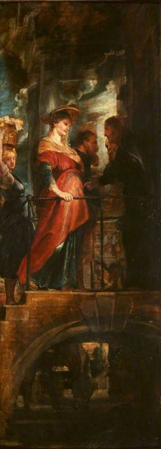 The Visitation  Peter Paul Rubens (1577–1640)  The Courtauld Gallery