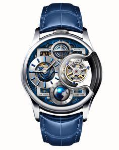 Memorigin Watch Tourbillon Imperial Stellar Series Gold Silver – www.-d-finition.com
