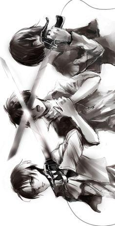 Levi Eren Mikasa