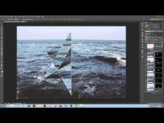Tutorial - Hipster Geometric Design in Illustrator and Photoshop - YouTube