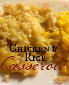 Casserole Title 838x1024 Chicken and Rice Casserole Recipe Plus Menu Plan Monday