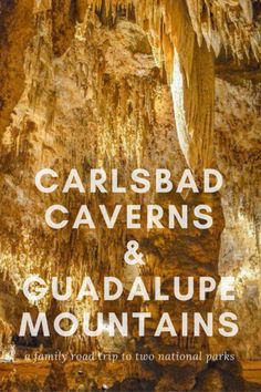 A family-friendly guide to exploring Carlsbad Caverns and Guadalupe National Park with kids, including tips, tricks, and must-do activities. via New Mexico USA New Mexico Road Trip, Travel New Mexico, Mexico Vacation, Costa, Guadalupe Mountains National Park, Carlsbad Caverns National Park, Las Vegas, Family Road Trips, Family Travel