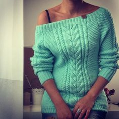 арарroc.рарphp (700x700, 418Kb) Lace Knitting Patterns, Knitting Designs, Crochet Blouse, Knit Crochet, Knitwear Fashion, Sweater Weather, Diy Fashion, Pullover Sweaters, Sweaters For Women