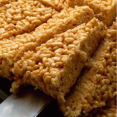 Sticky toffee rice krispie crunchies - Good Housekeeping
