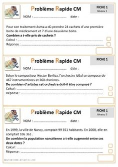 Problemes Rapides Cycle 3                                                       …