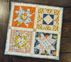 The Ultimate Pillow/Wall-Hanging Duo Made with AccuQuilt - Homemade Emily Jane Easy Quilts, Mini Quilts, Modern Quilting Designs, Fat Quarter Quilt, Half Square Triangle Quilts, Baby Quilt Patterns, Quilting For Beginners, Quilted Wall Hangings, Free Motion Quilting