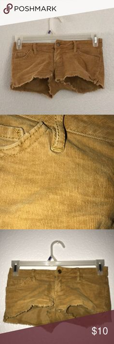 Corduroy shorts roxy Cute booty shorts Size 0 no problems , make me an offer 😍💖 Roxy Shorts