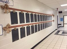 Lovely My hallway bulletin board for the year – burlap chevron ribbon, burlap ribbon, & handmade display boards and name tags. The post My hallway bulletin board for the year – burlap chevron ribbon, burlap ribbon, &… appeared first on Post Decor . 2nd Grade Classroom, Classroom Setting, Classroom Door, Classroom Setup, Classroom Design, Kindergarten Classroom, School Classroom, Classroom Organization, Future Classroom