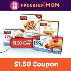 You'll love this coupon to Save $1.50 on any Van's Natural Foods product - you can only print one coupon, they won't last long!  YOUR #COUPON http://freebies4mom.com/vansq/