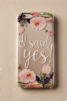 BHLDN I Said Yes! iPhone Case in  New   BHLDN