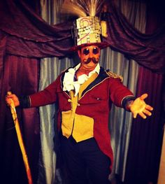 Ringmaster d.i.y. costumes