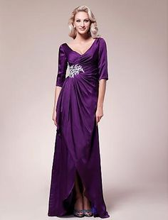 Click Image Above To Purchase: Sheath/column V-neck Floor-length Satin Chiffon Mother Of The Bride Dress Mob Dresses, Dresses 2013, Sexy Wedding Dresses, Dresses For Sale, Dresses Online, Bridesmaid Dresses, Formal Dresses, Bride Dresses, Party Dresses