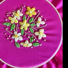 Lisa Michelle McGalliard added a photo of their purchase Diy Embroidery Kit, Modern Embroidery, Embroidery For Beginners, Floral Embroidery, Embroidery Patterns, Learn Embroidery, Craft Kits, Diy Kits, Art Mural Floral