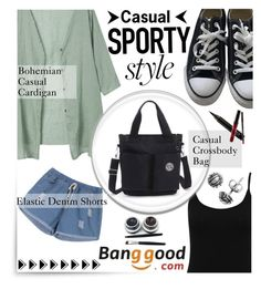 """""""Casual Sporty (Banggood 3/10)"""" by shambala-379 ❤ liked on Polyvore featuring Converse, M&Co, Journee Collection, Kylie Cosmetics and BangGood"""