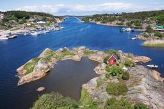 Ever wanted to live on your own personal island? Rent this Airbnb house in Norway and you can! We've collected the most amazing Airbnb locations in Europe on our blog!