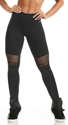 fe807f6f46 Brazilian workout Legging - Emana Hyper Compression Black Slim Thighs,  Workout Leggings, Yoga Routine