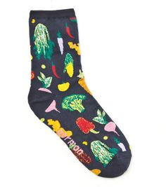 Gorman Online :: Winter Harvest Sock - Tights and Socks - Accessories Funky Socks, Crazy Socks, Cute Socks, My Socks, Happy Socks, Fashion Socks, Mode Outfits, Sock Shoes, Hosiery