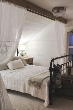 Awesome 150 Stunning Romantic Master Bedroom Design Ideas You Must Try Decoor - room divider ideas - Bedroom Decor Farmhouse Master Bedroom, Furniture, Room, Room Interior, Bedroom Design, Home Decor, Bed, Attic Bedroom Designs, Bedroom