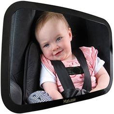 Baby Car Mirror  50 Off  View of Back Seat Rearfacing Infant  Registry or Shower Gift >>> Details can be found by clicking on the image.
