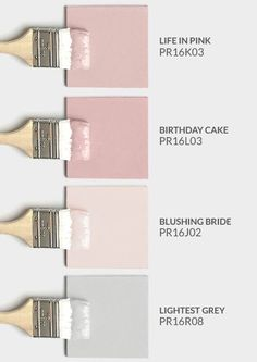 Premier Paint, Stain & Painting Tools - Blush pink and beige color palette. Mix of blush pink and gray. Blush pink and beige color palette. Beige Color Palette, Gray Color, Colour Palettes, Pink Palette, Neutral Colors, Neutral Paint, Grey Paint, Cute Room Decor, Girl Room Decor