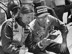 Janet Guthrie (born March 7, 1938, in Iowa City, Iowa) is a retired professional race car driver and the first woman to qualify and compete in both the Indianapolis 500 and the Daytona 500. Guthrie was originally an aerospace engineer and after graduating from the University of Michigan, she worked with Republic Aviation. She began racing in 1963 on the SCCA circuit in a Jaguar XK 140 and by 1972, she was racing on a full-time basis..