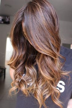 Ombre Curly Hair, Curly Hair With Bangs, Ombre Hair Color, Short Curly Hair, Curly Hair Styles, Brown Curls, Joelle, Magic Hair, Hair Blog