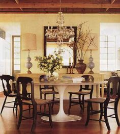 modern/country dining