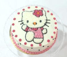 Tarta de Hello Kitty (buttercream)