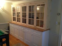 Completed custom cabinetry in Southborough, MA