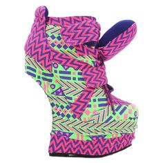 Blac Chyna# heelless sneaker# multicolor pink green