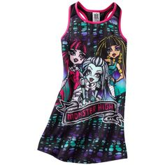 Monster High apparel at Kohl's - Shop our entire selection of girls' sleepwear, including this Monster High Nightgown, at Kohl's. Monster High Room, Monster High Shoes, Monster Girl, Hot Outfits, Kids Outfits, Girls Sleepwear, Night Gown, Girls Shoes, To My Daughter
