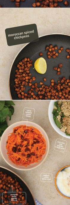 morrocan spiced chickpeas