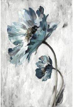 Portfolio Arts Group La Fleur I 24-Inch 36-Inch Canvas Wall Art