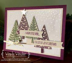 Monday Montage - SU - Festival of Trees - Winter - Christmas