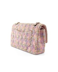 Authentic Chanel Tweed Quilted Medium Classic Double Flap Bag at  THEBROWNPAPERBAG. 6047729d92bff