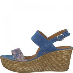 Tamaris 28364 Damen Plateau Sandalen mit Keilabsatz: Tamaris: Amazon.de: Schuhe & Handtaschen