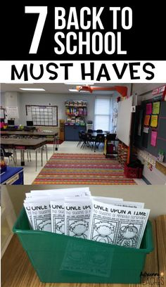 Do not start your back to school season without these 7 must haves! Classroom organization and management tips at their finest for elementary school teachers! Including meet the Teacher orientation day! #backtoschool #classroomorganization #classroommanag