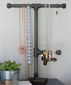 One Material, 13 Ideas: Functional & Stylish Metal Pipe DIY Projects | Apartment Therapy