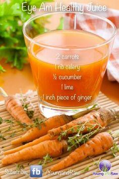 Eye Am Healthy Juice