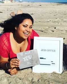 This Woman's Job Offer Announcement Is Both Career And Relationship Goals