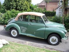 Morris Minor Convertible (1965)Not a Hillman but I will take it just the same