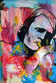 Chet Baker Chet Baker, Art Music, Famous People, My Arts, Abstract, Modern, Faces, Paintings, Design
