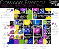 Effective and ADORABLE classroom decor and wall resources!