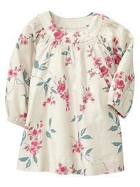 Smocked shoulder dress