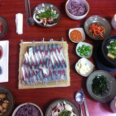 Mackerel Sashimi @ Jeju