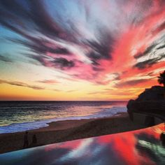 """""""Never gets old"""" sunset view from Grand Solmar Land's End Resort & Spa by Instagram user @josh_condor."""